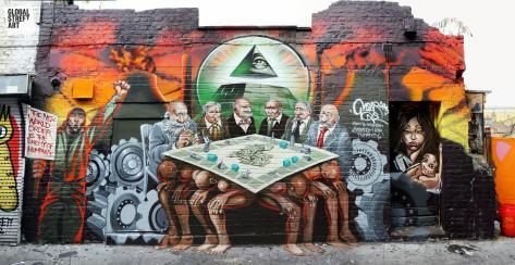 Steet-Art-Graffiti: Die Tyrannen werden sichtbar