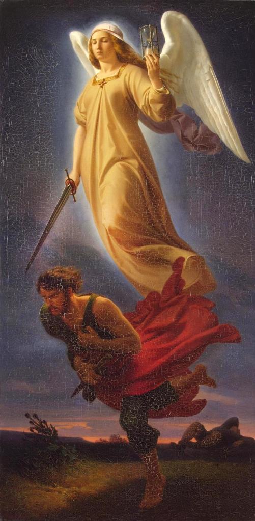 NEMESIS, der Göttin des gerechten Zorns | von Alfred-Rethel