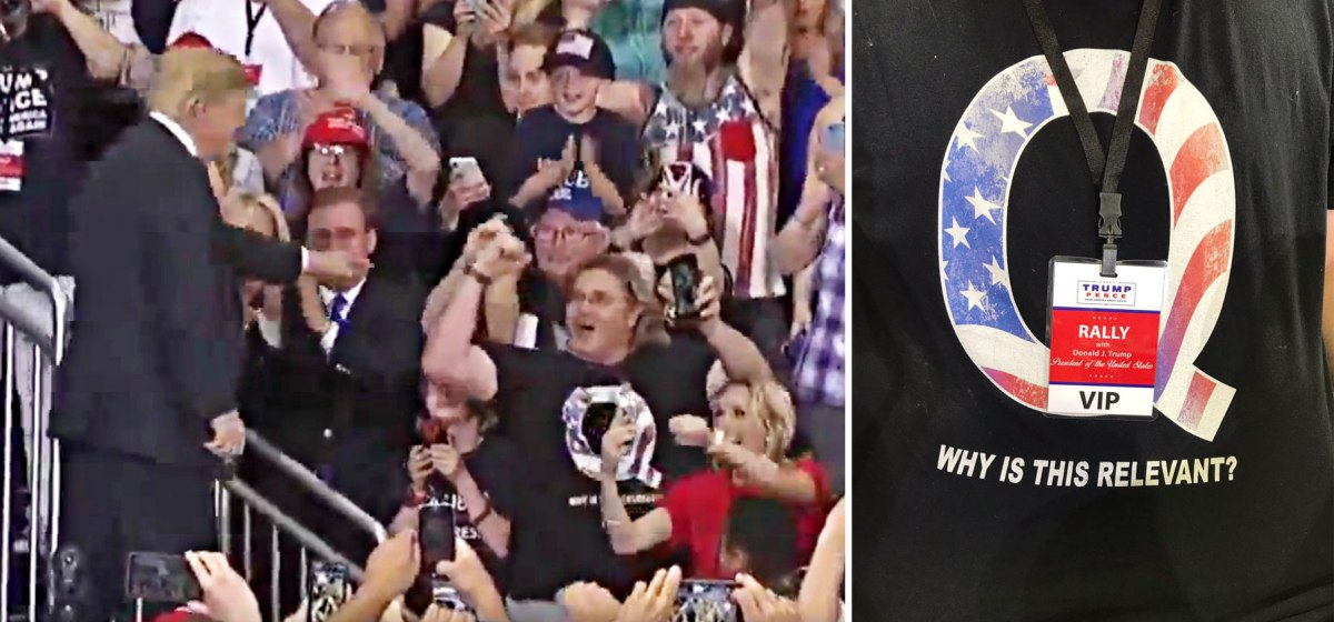 Trump, Qanon & Co schalten das Licht an: Das große Erwachen